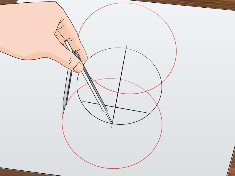 how to find the center of a circle using algebra
